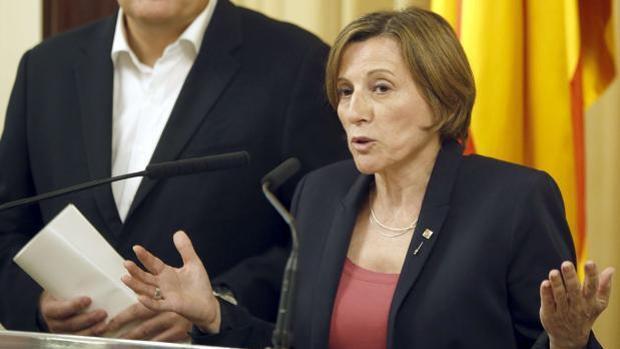 Los candidatos imputados, con pies de plomo en los mítines de las elecciones catalanas