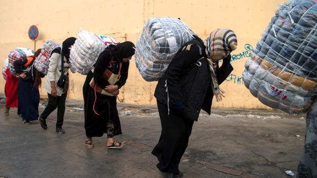 Mueren dos mujeres tras una avalancha en el lado marroquí de la frontera de Ceuta