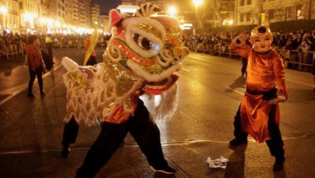 Valencia busca posicionarse como destino turístico con la Cabalgata del Año Nuevo chino