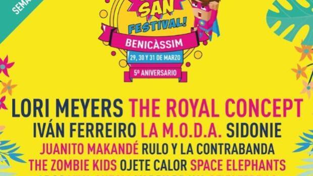 SanSan Festival 2018: el cartel definitivo y entradas para la primera fiesta de la primavera valenciana