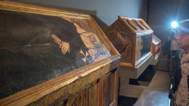 El Monasterio de Sijena reabre con las obras incautadas en el Museo de Lérida