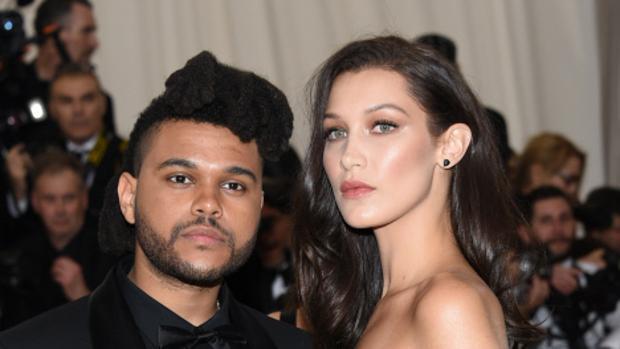 Pillan a The Weeknd saliendo de la casa de Bella Hadid