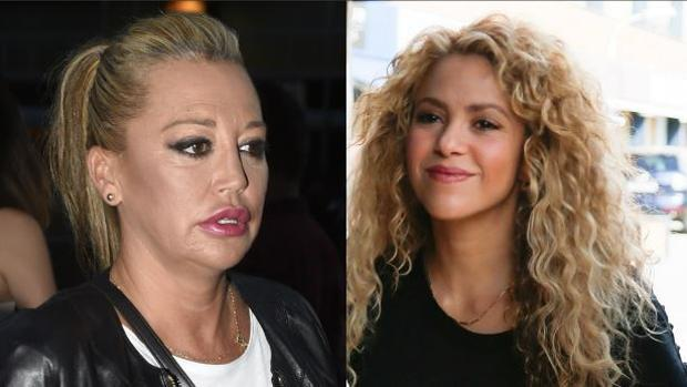 Guerra abierta entre Belén Esteban y Shakira