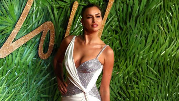 Irina Shayk, del pijama en Miami a la alfombra roja de los British Fashion Awards