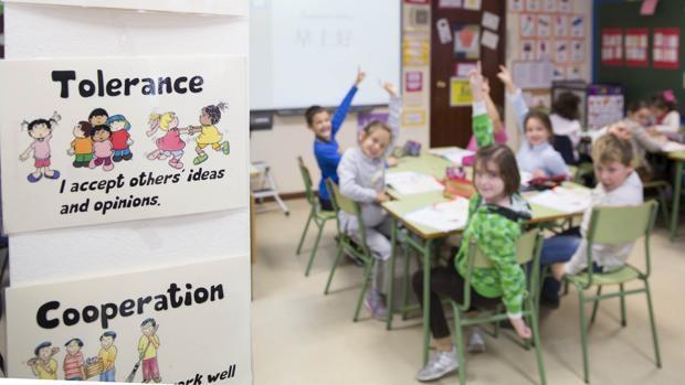 El colegio donde los alumnos alcanzan un nivel de inglés por encima de la media española