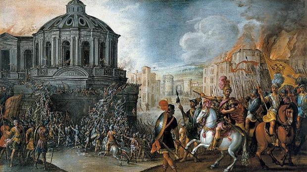 Bautizo en Roma: el desesperado sacrificio de la Guardia Suiza para salvar al Papa del saqueo español