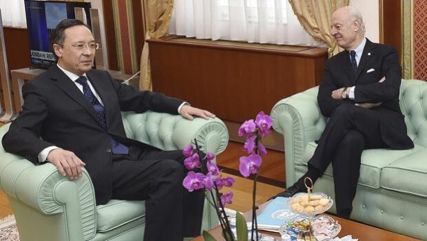 Arranca en Kazajstán el diálogo indirecto entre el régimen sirio y los rebeldes