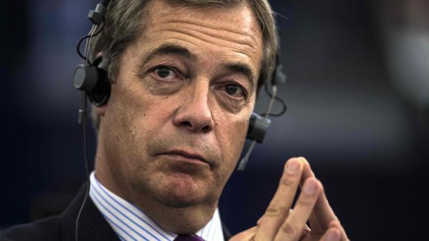 El ultra Nigel Farage, el «destructor de países»