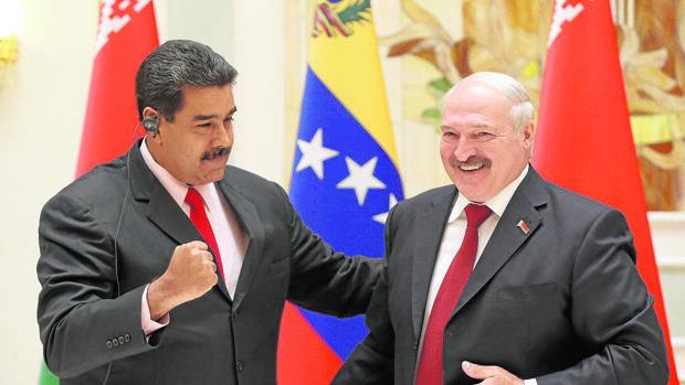 Maduro prosigue en Bielorrusia su «gira de los autócratas»