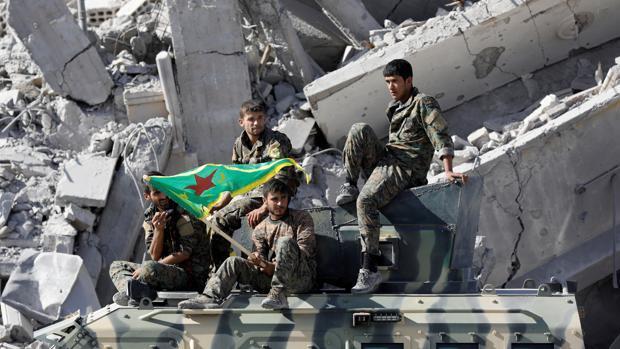 El 20 por ciento de los edificios de Raqa están «completamente destruidos»
