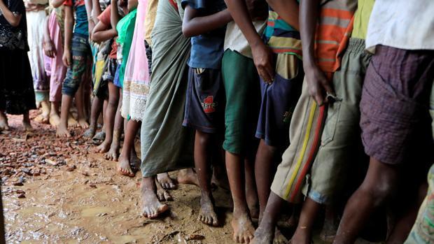 Más de 6.800 refugiados birmanos llegan a Bangladesh en las últimas horas