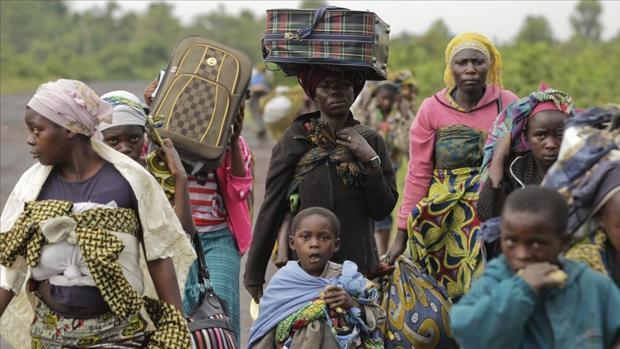 El Congo supera en desplazados a la guerra de Siria en 2017