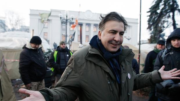 Detenido de nuevo en Kiev el expresidente georgiano Mijaíl Saakashvili