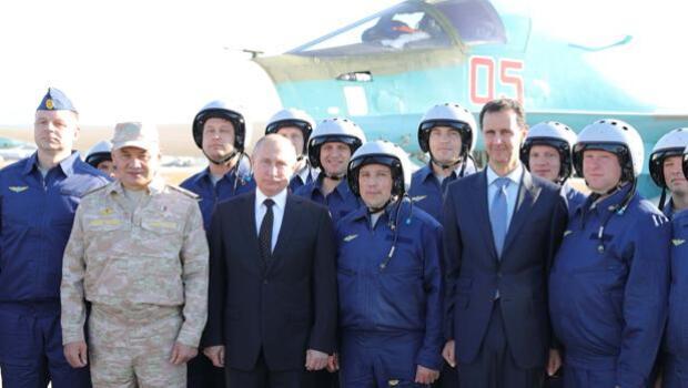 Putin reivindica la victoria en Siria y se presenta como «zar» de Oriente Próximo
