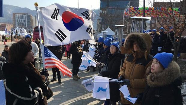 «Queremos que Corea sea un solo país, odiamos la guerra»