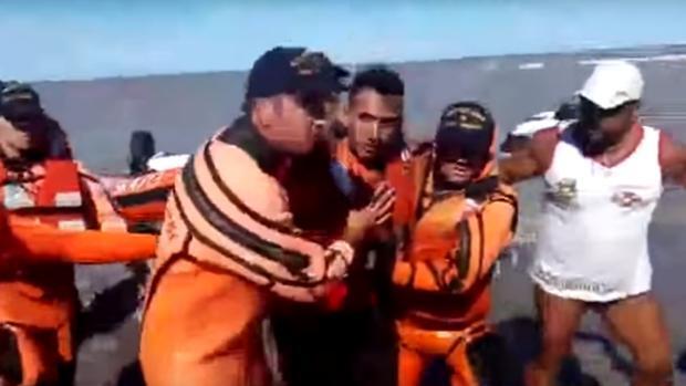Un argentino que nunca había montado en Kayak se convierte en náufrago por dos días