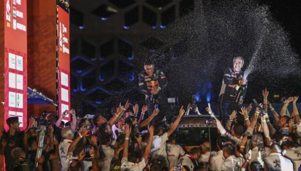 Carlos Sainz: en plena forma a los 55 años tras una dilatada carrera de éxitos