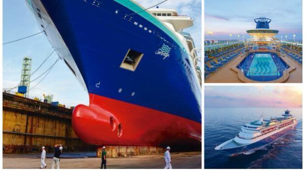 Pullmantur Cruceros invierte casi 20 millones en la revitalización del buque 'Sovereign' en Navantia-Cádiz