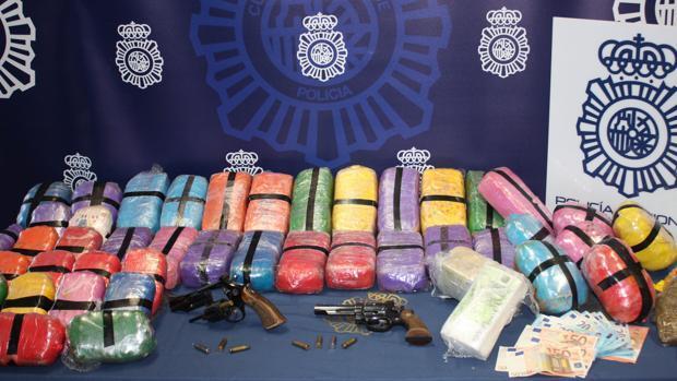 Cae una red de narcos en Algeciras que robaba droga a otras bandas