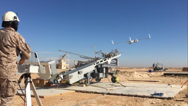 Drones gaditanos surcan por primera vez el cielo de Irak