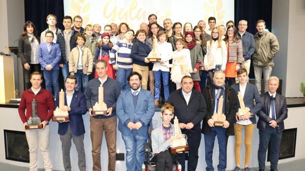 Reconocimiento a los deportistas e instituciones loreñas en la III Gala del Deporte