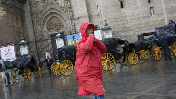 Una decena de municipios en Sevilla afectados por las fuertes lluvias