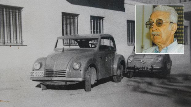 El primer coche eléctrico español lo construyó un sevillano en 1946 y lo usó 12 años