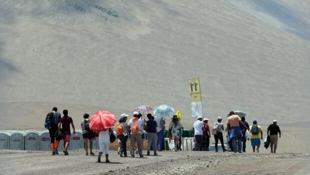 El Papa clama en Chile contra «los que se aprovechan de la irregularidad de los inmigrantes»