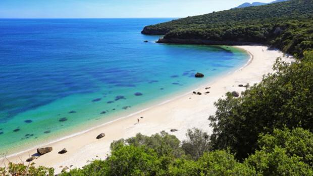 Galapinhos, cerca de Lisboa, elegida la mejor playa de Europa