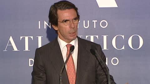 Aznar sobre el juicio de la Gürtel: