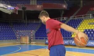 Marc Gasol ya se entrena con el Barça