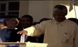 Nelson Mandela hospitalizado