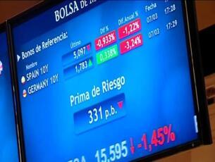Cierre de la Bolsa de Madrid