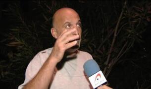 La caída de un poste de la luz provoca un incendio forestal en Tenerife