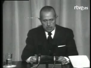 Arias Navarro, Franco ha muerto