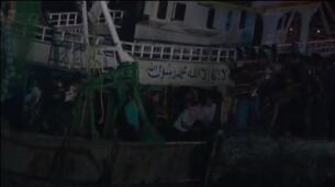 Rescatada la patera con 450 inmigrantes hundida frente a Egipto