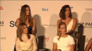 Garbiñe Muguruza, a por todas en las finales de la WTA en Singapur