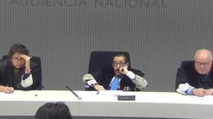 Alfonso Guevara en el juicio del caso Zapata: