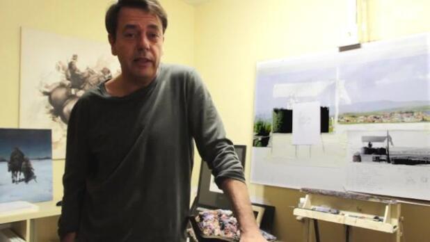 Ferrer-Dalmau presenta su última obra, «Lejos de casa»
