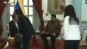 Maduro ratifica a Zapatero el compromiso con el diálogo
