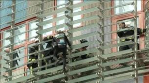 El 'Spiderman francés' vuelve a escalar la Torre Agbar de Barcelona