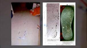Los peritos confirman que hallaron huellas de Antonio Ortiz y una de las niñas en un colchón