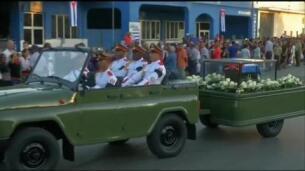 Fidel Castro reposa ya junto a antiguos compañeros de lucha