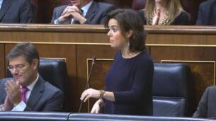Sáenz de Santamaría a Iglesias: