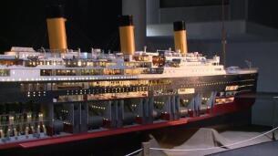 La maqueta del Titanic más grande del mundo, en Bilbao