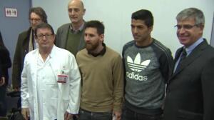 Messi se suma al programa 'Invulnerables'