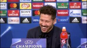 """Simeone: """"Me quedo con el juego, el resultado pudo ser más amplio"""""""