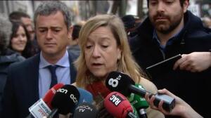 Numerosos políticos acompañan y apoyan a Francesc Homs en su comparecencia ante el Tribunal Supremo