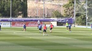 El Madrid vuelve al tajo nada más llegar de Castellón