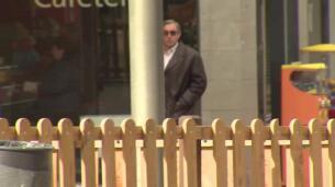 Diego Torres cumple la medida cautelar de firmar en el juzgado tras su condena